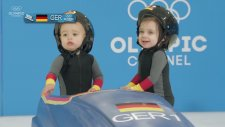 Kış Olimpiyatlarında Minikler Yarışsaydı Nasıl Olurdu?