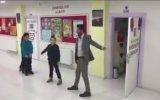 Öğrencileri İle Tek Tek Dans Eden Öğretmen  Diyarbakır