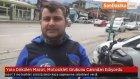 Yola Dökülen Mazot, Motosiklet Grubunu Canından Ediyordu
