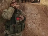 Afrin'de Bingöllü Çobanın Taklidini Yapan Mehmetçik