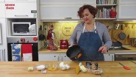Bademeli ve Karamelli Cheesecake - Semen Öner