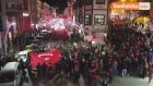 Gümüşhane Caddeleri 'Şehitler Ölmez Vatan Bölünmez' Sloganlarıyla İnledi