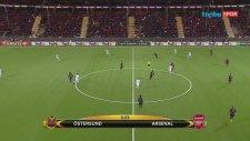 Östersunds 0-3 Arsenal (Maç Özeti - 15 Şubat 2018)