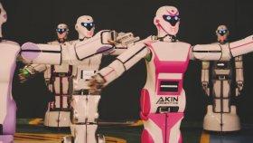 Erik Dalı Oynayan Robotlar