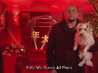Real Madrid'in Roberto Carlos'lu Çin Köpek Yılı Kutlaması