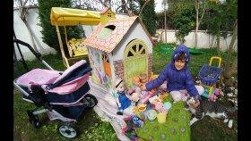 Yeni Oyun Evi Bahçede, Elif Nenuco Bebek Cici Bello ve Chichi Love İle Piknkte