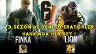 3.SEZON YENİLİKLERİ VE YENİ OPERATÖRLER ! | Tom Clancy's Rainbow Six Siege