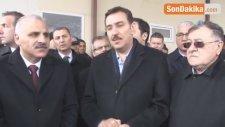 Bakan Tüfenkci Kapıköy Sınır Kapısında İncelemelerde Bulundu