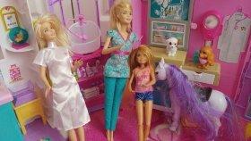 Barbie Köpeğini Veterinere Götürüyor. Elifin Videosu