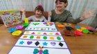 En Güzel Play Doh Şekil Challenge, Eğlenceli Çocuk Videosu, Toys Unboxing