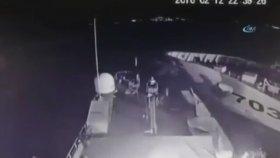 Yunan Sahil Güvenlik Botuna Çarpan Türk Sahil Güvenlik Botu