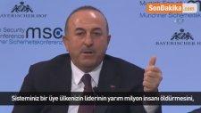 Bakan Çavuşoğlu'ndan Arap Birliği Genel Sekreteri Ebu Gayt'a Afrin Tepkisi