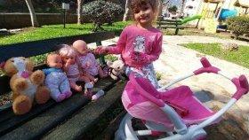 Elif ve Nenuco Bebek Lala Bebek Chichi Love Parkta Oynuyorlar