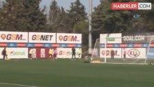 Galatasaray'da Tarık Çamdal İdmana Çıktı