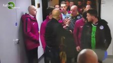 Guardiola ile Wigan hocası birbirlerine girdi