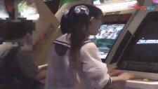 A video arcade 20 years ago