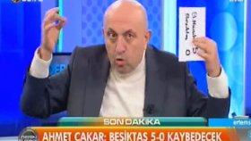 Ahmet Çakar'ın Sinan Engin'i Çıldırtan Skor Tahmini (Derin Futbol)