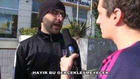 Beşiktaş'ta Dayak Yiyen Bayern Münih Taraftarı