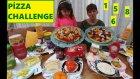 Çılgın Pizza Challenge Yaptık. Hem Şanslı Hem Cesaretli Hem Uyanık Olacaksın