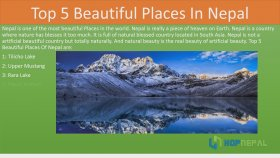 Top 5 Beautiful Places in Nepal