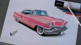 Cadillac Araba Çizimi // Anlatımlı