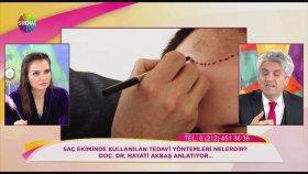 Doç. Dr. Hayati Akbaş - Saç dökülmesinin ana sebebi nedir? Show TV