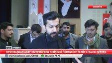 Faruk Özdemir'den Öğrenciye 50 Bin TL Yardım