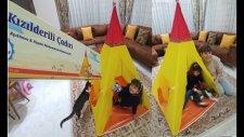 Kızılderili Çadırı Bu Çadır Kedicik Ponçik İçin Oyun Evi Oldu