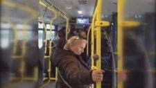 Ankara'da Otobüs Şoförü Yolcuları Rehin Aldı