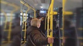Ankara'da Otobüs Şoförünün Yolcuları Rehin Tutması