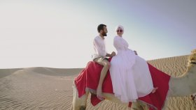Dubai'de Bir Türk Çiftin Düğün Klibi Seda & Ali