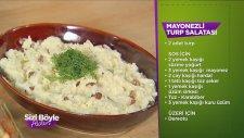 Mayonezli Turp Salatası Tarifi