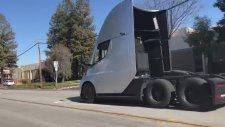 Tesla - Semi Truck Hızlanma...