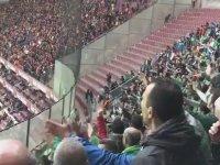 Bursaspor Taraftarının Metin Oktay'a Saydırması