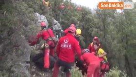 Fethiye'de Paraşüt 100 Metreden Yere Çakıldı, AFAD ve UMKE Ekipleri Seferber Oldu