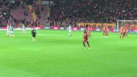 Galatasaray 1-0 Bursaspor Gol: Gomis (Tribün Çekimi)