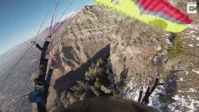 Ölüme Meydan Okuyan Paraşütçünün Adrenalin Dolu Serüveni