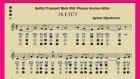 20.Etüt Nota Okuma Dersi Solfej Blok Flüt Piyano Keman Gitar Müziği Sevdirme Yolları