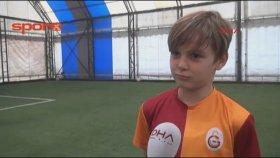 Ali Osman Kalın, 10 yaşında G.Saray'a transfer oldu