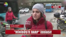 Kadıköy'de Minibüsçü Terörü