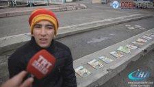 Tosya'da kitap satan Murat