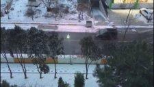 İstanbullular Güne Beyaz Örtü İle Uyandı