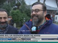 İddia Kaybeden Emre Bol'un Beşiktaş Marşı Söylemesi