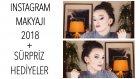 Instagram Makyajı 2018 ??etkili ve Gösterişli Gözler Sürpriz Hediyeler ?