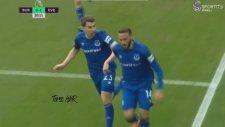 Cenk Tosun'un Everton Formasıyla Attığı İlk Gol (Burnley 0-1 Everton)