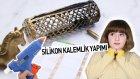 Silikon Kalemlik Yapımı | Dıy Hot Glue Gun Pencil Case