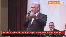 Hüda Par Genel Başkanı Yapıcıoğlu: