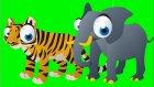 Çocuklar Orman Hayvanlarını Öğreniyor - Çocuklar İçin Vahşi Hayvanlar - Eğitici Video