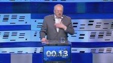 Rus Siyasetçi Vladimir Jirinovsky Türkçe Oy İstedi