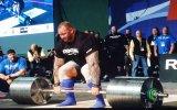 Dağ Hafthor Bjornsson'un 472 Kilo Kaldırması